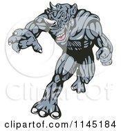 Running Rhino Man Villain