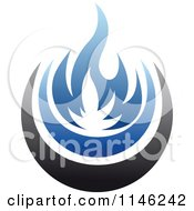 Blue Fire Natural Gas Logo