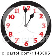 Wall Clock Showing 1