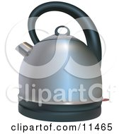 Silver Coffee Or Tea Kettle