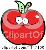 Red Apple Mascot