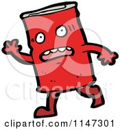 Cartoon Of A Food Can Mascot Royalty Free Vector Clipart