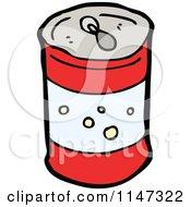 Cartoon Of A Soda Can Royalty Free Vector Clipart