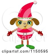 Christmas Elf Puppy