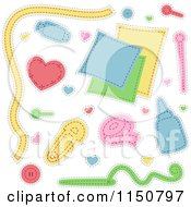 Sewing And Craft Design Elements