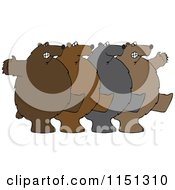Cartoon Of A Royalty Free Vector Clipart by djart
