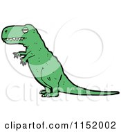 Cartoon Of A Tyrannosaurus Rex Royalty Free Vector Illustration