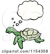 Royalty Free RF Sea Turtle Clipart Illustrations