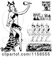 Black And White Retro Dancers