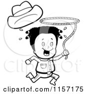 Cartoon Clipart Of A Vector Outlined Coloring Page