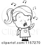 children singing coloring pages - photo#42