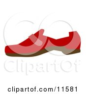 Red Shoe Clipart Picture