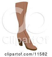 Brown Boot Clipart Picture