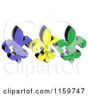 Mardi Gras Fleur De Lis