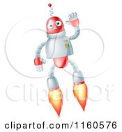 Waving Flying Robot With Boosters