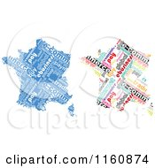 Clipart Of E Commerce Word Collage France Maps Royalty Free Vector Illustration by Andrei Marincas