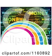 Money Word Collage Background With Arches And Copyspace