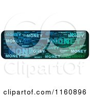 Colorful Word Collage Money Website Banner