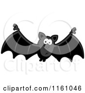Cartoon Of A Happy Vampire Bat Royalty Free Vector Clipart by Cory Thoman