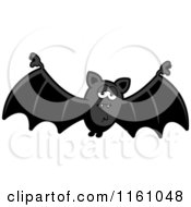 Cartoon Of A Depressed Vampire Bat Royalty Free Vector Clipart by Cory Thoman