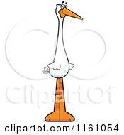 Happy Stork Mascot