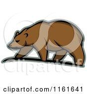 Walking Bear In Profile 2