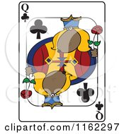 Dog Queen Club Playing Card