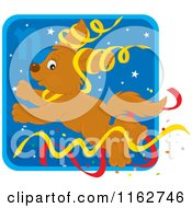 Cartoon Of A Capricorn Horoscope Zodiac Astrology Puppy Royalty Free Vector Clipart