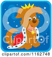 Cartoon Of A Leo Horoscope Zodiac Astrology Puppy Royalty Free Vector Clipart