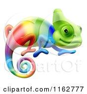 Gradient Rainbow Chameleon Lizard