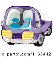 Purple Toy Truck