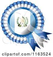 Shiny Guatemala Flag Rosette Bowknots Medal Award