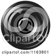 Clipart Of A Camera Lense With Aperture F 1 4 Royalty Free Vector Illustration by Lal Perera
