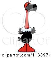 Mad Vulture Mascot