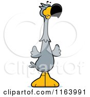 Cartoon Of A Mad Dodo Bird Mascot Royalty Free Vector Clipart by Cory Thoman