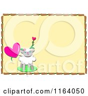 Sheep And Heart Frame