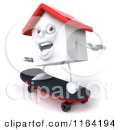3d White Clay Home Skateboarding