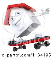 3d White Clay Home Skateboarding 2