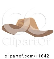 Tan Hat Clipart Picture by AtStockIllustration