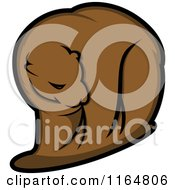 Clipart Of A Brown Bear 2 Royalty Free Vector Illustration