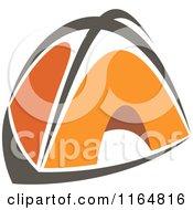 Orange Camping Tent