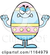 Mad Easter Egg Mascot