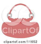 Pink Handbag Purse Clipart Picture