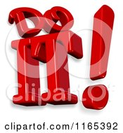 Clipart Of 3d Do It Text Royalty Free CGI Illustration