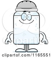 Cartoon Of A Happy Salt Shaker Mascot Royalty Free Vector Clipart