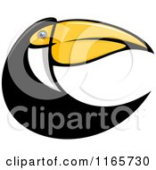 Clipart Of A Toucan Bird 2 Royalty Free Vector Illustration by Vector Tradition SM