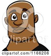 Bald Black Man Avatar