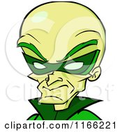 Cartoon Of A Dr Naughty Villain Avatar Royalty Free Vector Clipart