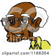 old man avatar 2 by cartoon solutions bespectacled old man    Old Black Man Cartoon Characters