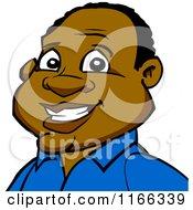 Happy Black Man Avatar